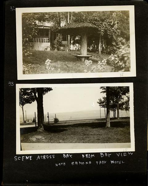 ar Scene across Little Traverse Bay from Bay View