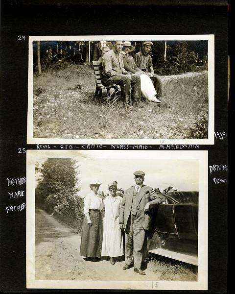 ao Rowland & Geroge & Anna B & Marie & Arthur Stebbins & Craig & McElwain 1915
