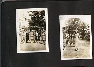 Unlabled Undated maybe Stowell Stebbins Album