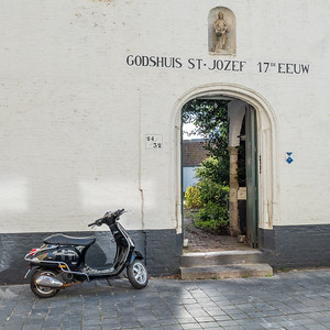 """Brugge """"Godshuis St-Jozef""""."""