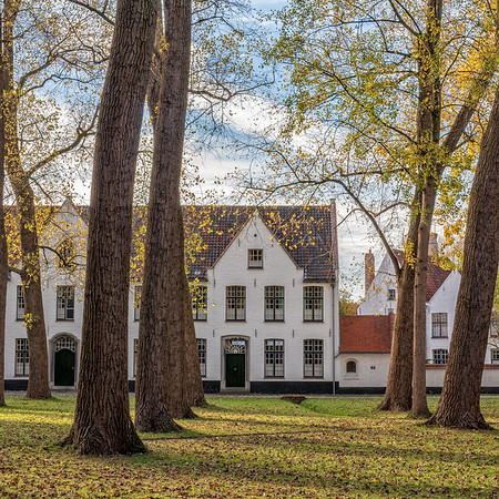 Brugge begijnhof.