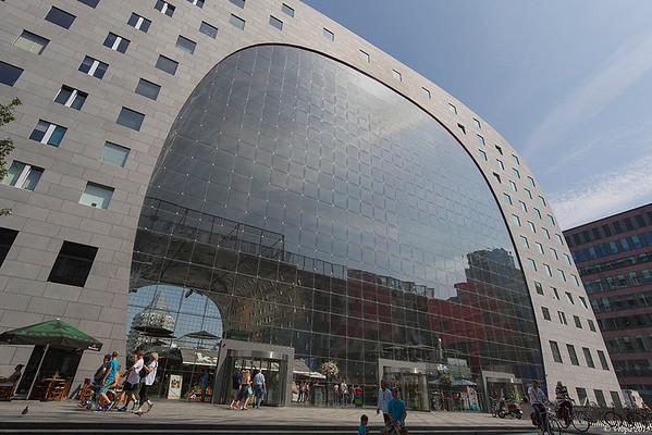 Markthal Rotterdam.