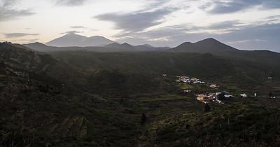 Utsikt mot Teide / View towards Teide<br /> Tenerife, Spania 28.12.2016<br /> Canon PowerShot G5 X