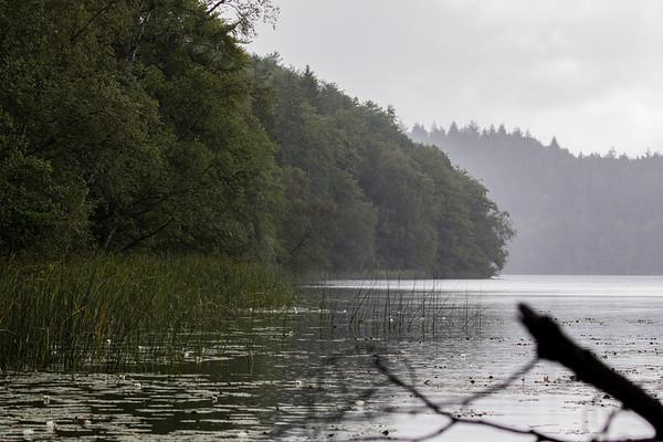 Regnbyge over Slåensø