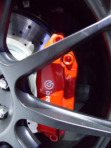 Brembo provided the braking upgrade needed for track use. All Steeda cars have track DNA....