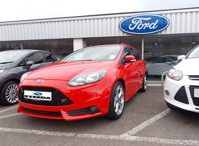 Brand new and untouched, our Ford Focus ST Estate, in ST 1 trim, with only tinted windows as an option. She will soon feel the Steeda difference!