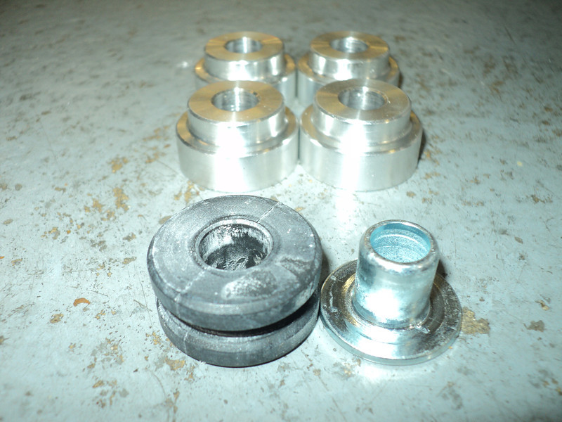 OEM shifter bushings vs Steeda Billet Shifter Bushes