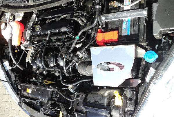 Steeda Fiesta Cold Air Intake fitted