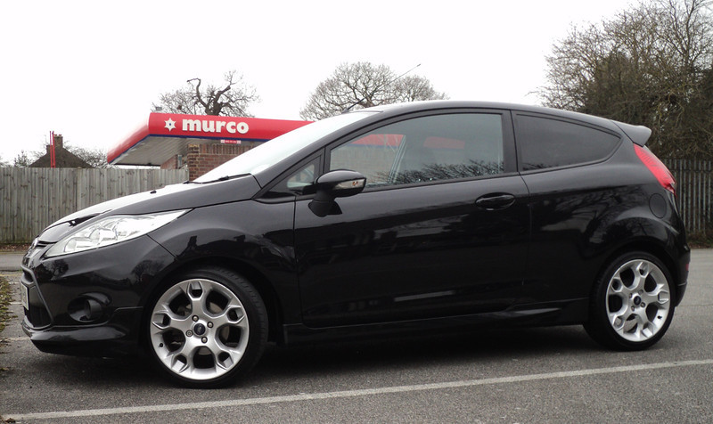 The base- a Ford 2009 Zetec S 1.6 Petrol