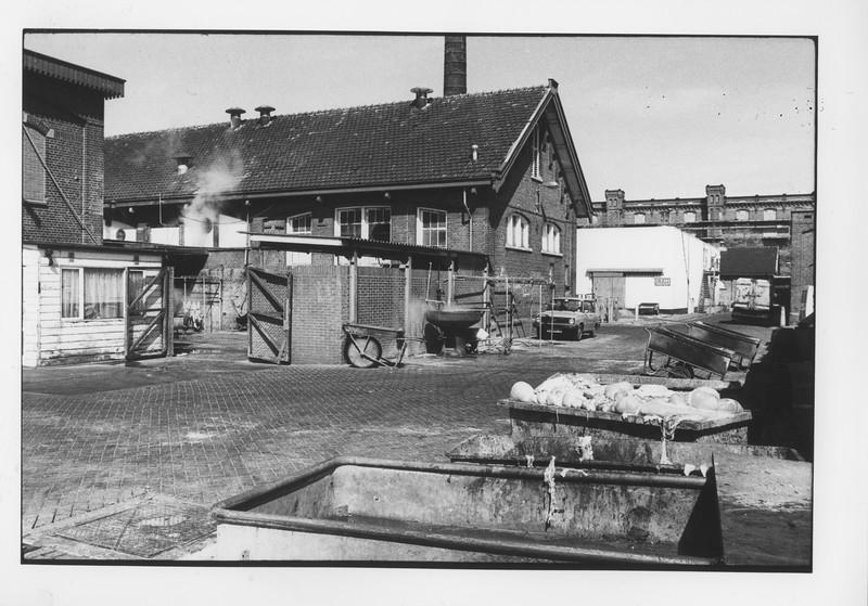 Nederland, Amsterdam, Gemeentelijk Abattoir, Cruquiusweg, 13 en 14 april 1981, foto Steef meijknecht