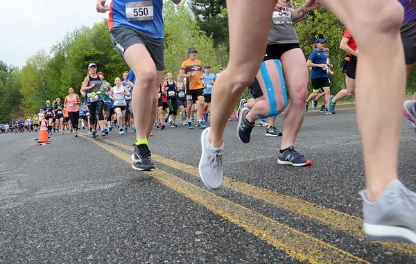 Steel Rail Half Marathon and 8K -- 052018