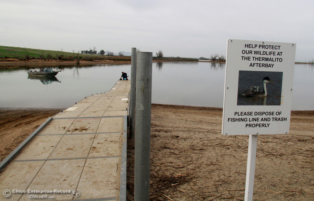 . The Thermailto Aftebay Monument Hill Boat Launch Wednesday, April 4, 2018, in Oroville, California. (Dan Reidel -- Enterprise-Record)