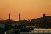 Steendorp - zonsondergang vanuit Rupelmonde