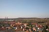 Steendorp vanop de kerktoren - Richting Temse, steenbakkerij, Gelaagpark, Roomkouter en Fort
