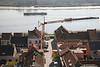 Steendorp vanop de kerktoren - Gelaagstraat en Schelde