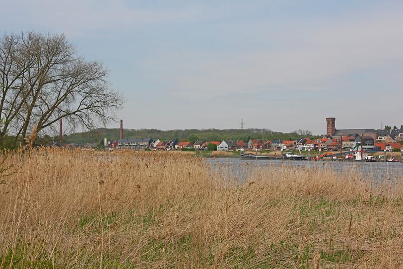 Steendorp (vanop de dijk in Hingene - 2014)