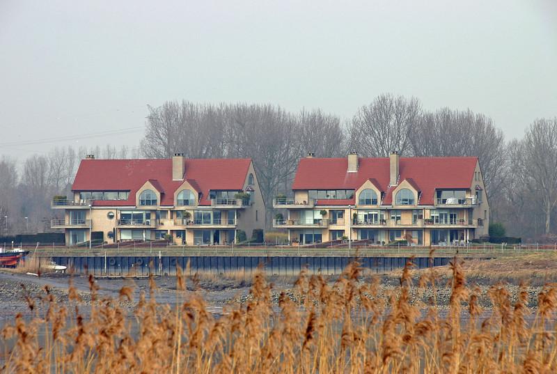 Steendorp - Lepelstraat (vanop de dijk in Hingene - 2009)
