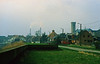 """Steendorp - zicht vanop de dijk in de Lepelstraat ter hoogte van """" 't Huis ten halve"""" op het moment dat de werken aan de nieuwe dijk waren begonnen"""