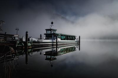 Morgennebel am Altausseer See
