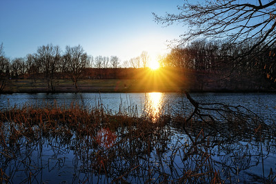 Sonnenuntergang am Thalersee