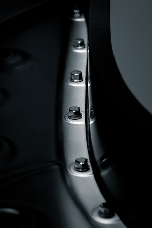 Steinway B, piano plate (known as the harp), bolts and rim of the piano.
