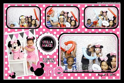 Stella Marie turns 1 (Fusion Photo Booth+Event Photos)