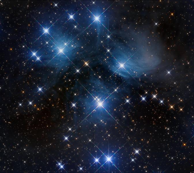 The Pleiades  --  in Taurus