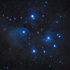 M45 - The Pleiades -- Taurus Constellation