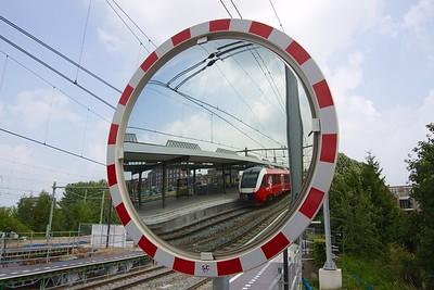 Station Zutphen op een andere manier bekeken.