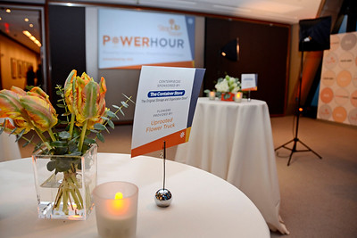 "NEW YORK, NEW YORK - OCTOBER 28: Step Up presents ""Power Hour"" at the Hearst Tower on October 28, 2015 in New York City. (Photo by Lukas Maverick Greyson)"