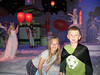 Anna Clare and Eli at the 8th floor Nutcracker display.