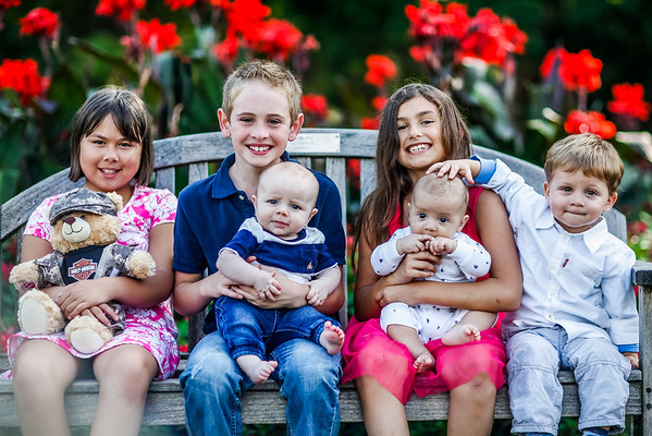 Stephanie + Ben Family Portraits