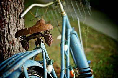 Rusty Blue Bicycle
