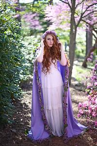 Model: Stephanie Valent  Makeup by Evie Selaty Cloak by Frankie LaPorte