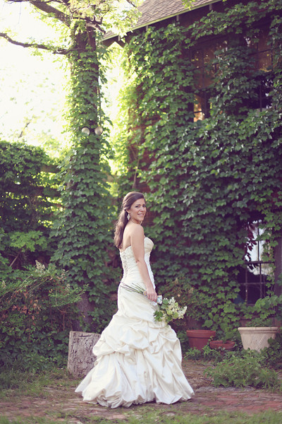 Organic Garden Bridal Whitney18