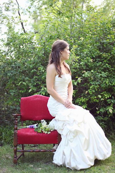 Organic Garden Bridal Whitney28