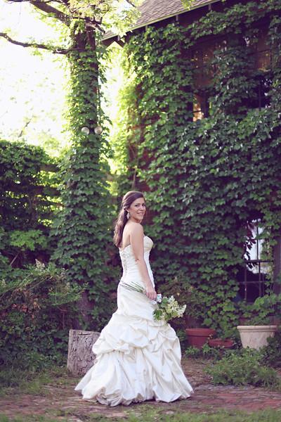 Organic Garden Bridal Whitney17