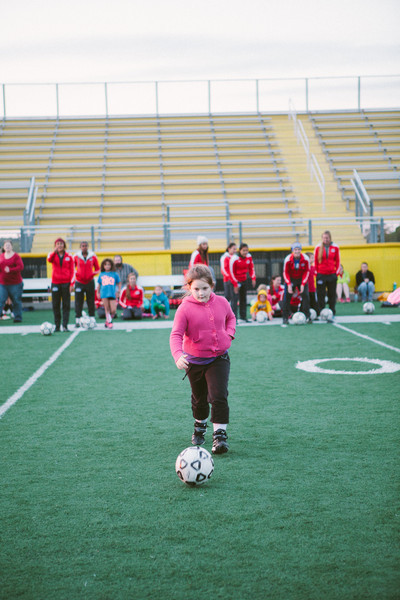 Cisco Soccer Youth Clinic 2013