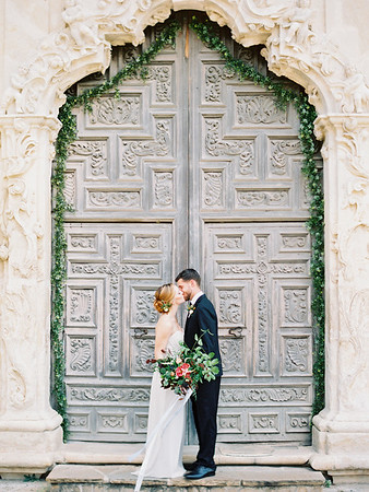Old World Romance: An Elopement at The Mission