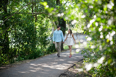 Stephanny And Ricado Engagement shoot treetops park