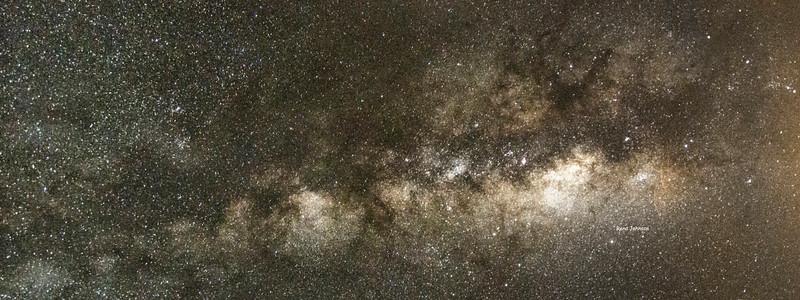 Dark Skies Vertical over Stephen C Foster and Okefenokee