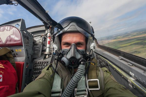 Selfie in Snowbird Jet #9