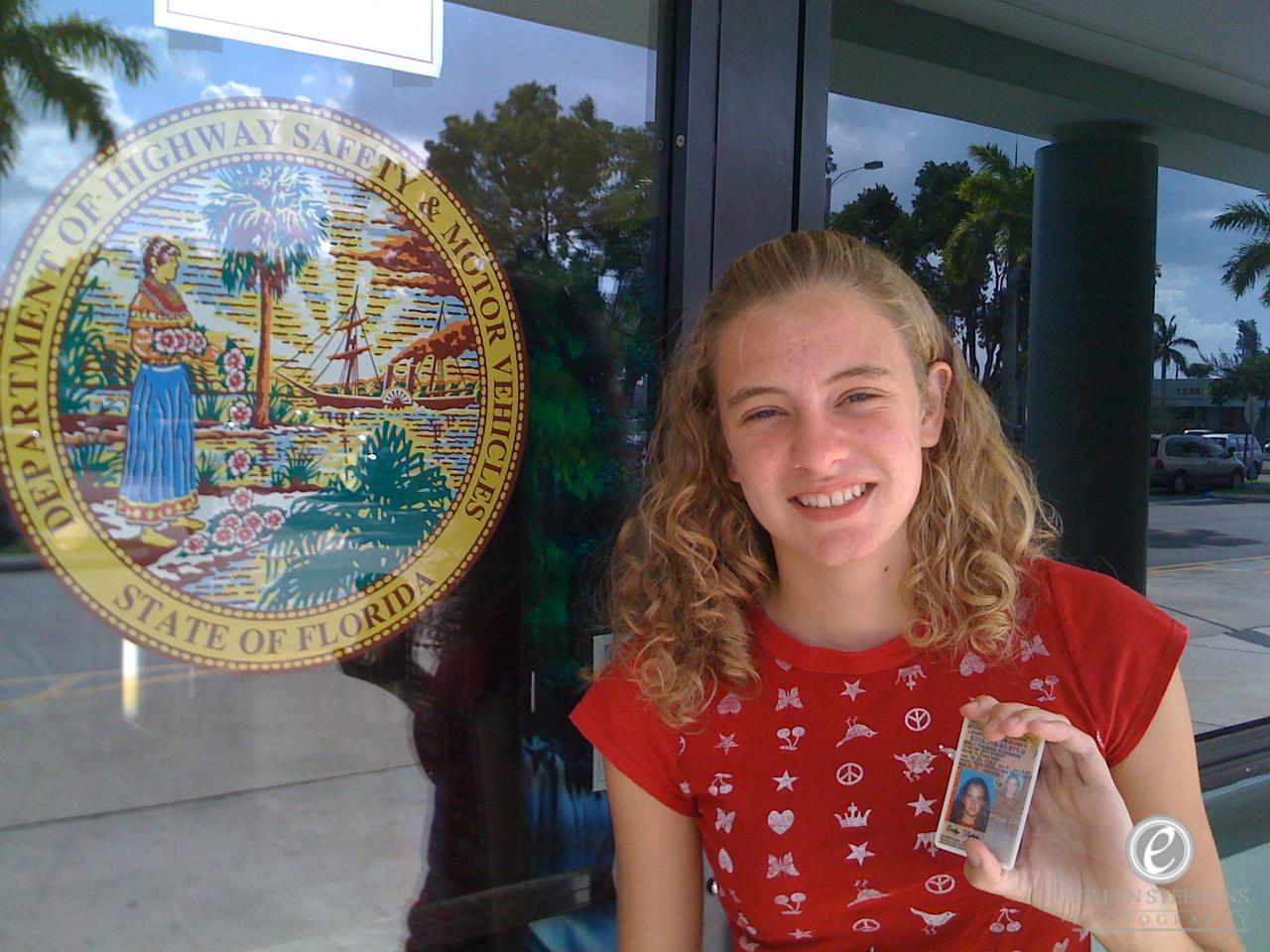 Emily got her permit