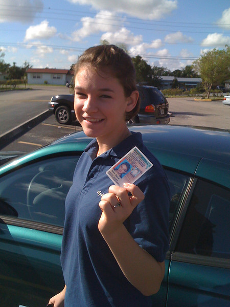 Yahoo! I  got my license