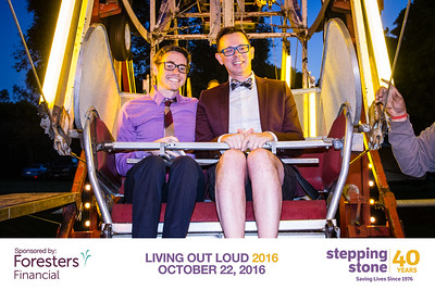 "Celebrating 40 Years at Stepping Stone's ""Laughing Out Loud 2016"" Gala Fundraiser at Swiss Park. Learn more at https://steppingstonesd.org/"