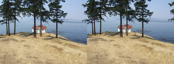 This is Turn Point and the Turn Point Light House on Stuart Island.  This island is also with in the San Juan Islands.