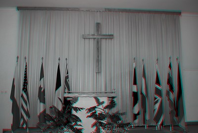 Church Interiors in Anaglyph Stereo back-up