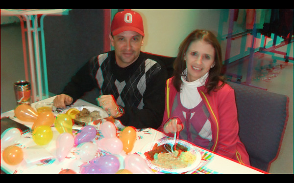 FBC Pastor Goforths 50th Pre-Birthday Celebration in Anaglyph Stereo