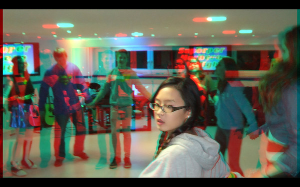 FBC Youth in Anaglyph 3D with the Fuji W3 camera