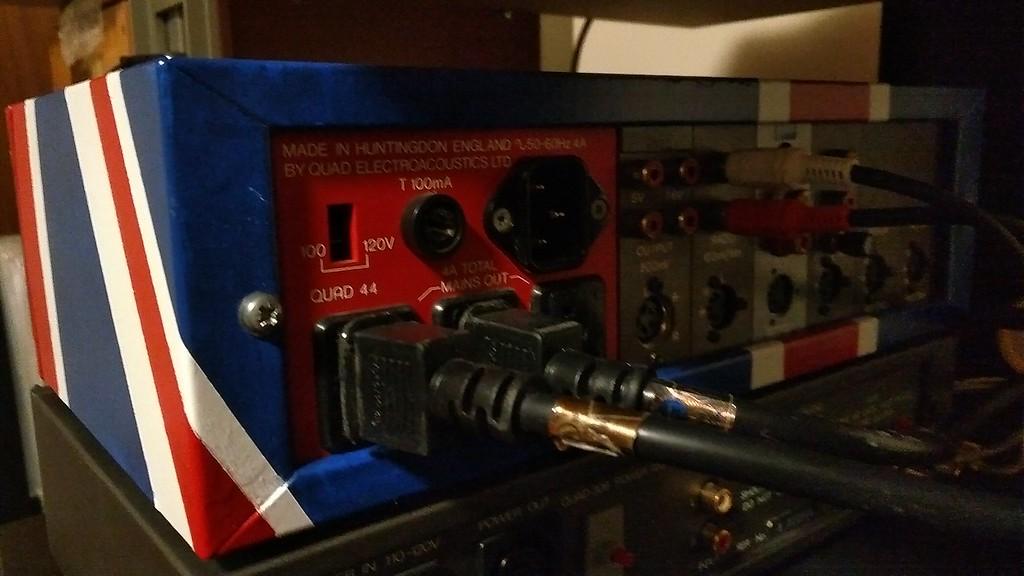 Quad 44 AP Mod, Quad 306 and Thorens TD-165 Special System